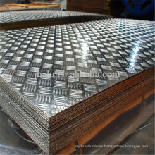1100 5052 5083 checkered aluminum plate for Construction Vehicle fender