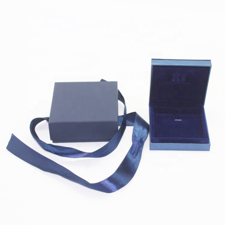 Manufacturer Custom Blue Paper Single Pendant Box