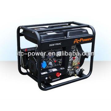 2 kW welder ITC-POWER diesel generator set welding