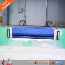Безопасность 12 тонн выравниватель дока загрузки, гидровлическое оборудование дока тележки пакгауза