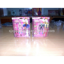 Thermal forming rigid clear mylar wrap film for toys