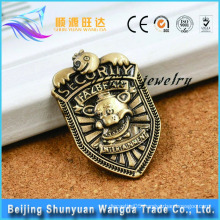 Verious Kinds of Bronze Die Cast Metal Pin Badge for Custom Pin Badge