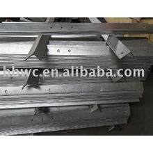 galvanized Cross arm for electric power fitting