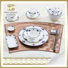 En gros chaozhou céramique ware, utilisé restaurant plaque de dîner en porcelaine