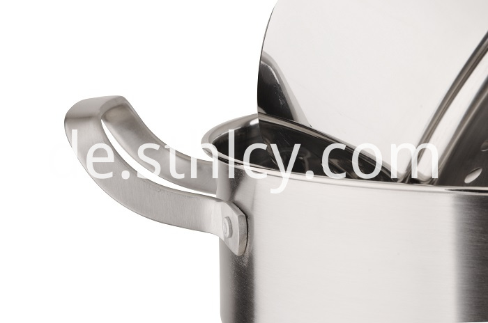 Stainless Steel Double-Layer Steamer Pot