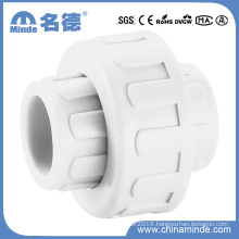 PPR Plastic Adapter Union for Buildng Materials