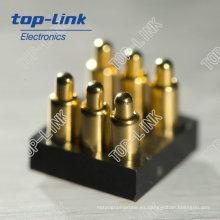 Conector de clavija Pogo con muelle (conector de batería)