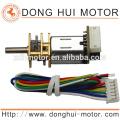12mm micro dc getriebemotor, 6 v dc getriebemotor für Elektronische schloss und türschloss, Metall Getriebemotor von Donghui Motor DGA12-20