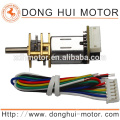 12mm micro dc gear motor, 6v dc gear motor for Electronic lock and door lock,Metal Gear Motor from Donghui Motor DGA12-20