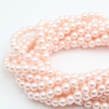 Günstige Großhandel Oyster 4-10 MM Pfirsich Runde Natürliche Shell Perlen Lose Perle Oyster