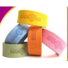 Conduisez le bracelet efficace de bande de mosquito de tissu de fibre de Midge