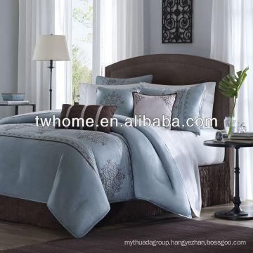 Madison Park Brussel Multi Piece Comforter Duvet Floral Bedding Set