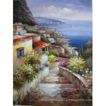Peintures de paysage méditerranéennes