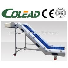 vegetable and fruit conveyor/scraper conveyor/stem elevator/food elevator