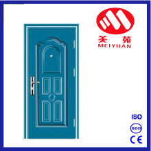 Powder Paint Steel Iron Exterior Door for Project Door