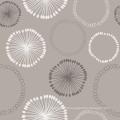Novo Design PVC Impresso Toalha De Mesa com Tecido de Apoio LFGB Atacado Fábrica