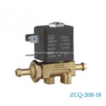 Válvula de conector de tubo tipo AC12V 24V de Europa