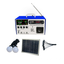 DC portátil LCD Solar Light Kits