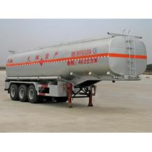 13m Tri-axle Oil Tanker Transport نصف مقطورة