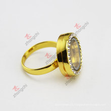 Fashion Alloy Floating Locket Ring (FL)