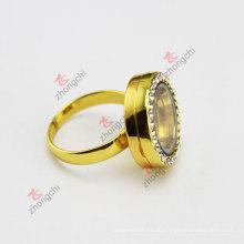 Мода сплава плавающей Locket кольцо (FL)