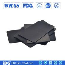 Hoja de amortiguación de goma de silicona