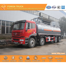 FAW 8x4 Chemical Liquid Truck Capacity 28000L