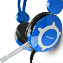 USB Headset 3.5mm Computer Headset with Microphone