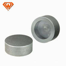 hot sale!!! high pressure large diameter carbon steel pipe end cap!