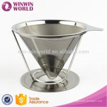 Malha de arame de filtro de café de cesta de aço inoxidável