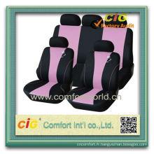 Couverture de siège de voiture de polyester de conception de mode