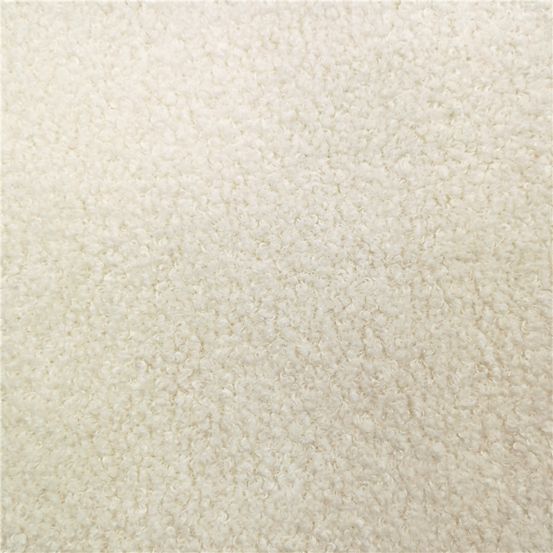White Mohair Knitted Coat Fabrics