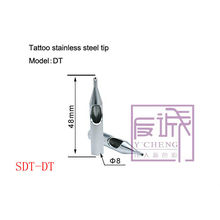 Professionelle Tattoo Tips Edelstahl SDT-DT