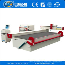 HEAD brand Waterjet Cutting glass Process machine glass cutter