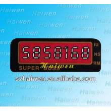 Custom design lcd membrane switch with LED light
