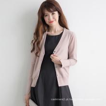 conjuntos de suéter de senhoras de malha para adultos de várias cores para mulher