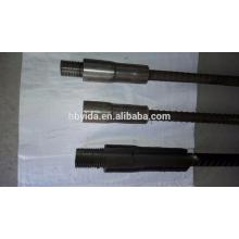 Système de couplage de barres d'armature anti-choc de conception rigide pour la construction