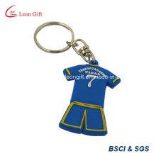 Wholesale Sport pas cher personnalisé porter PVC Keychain