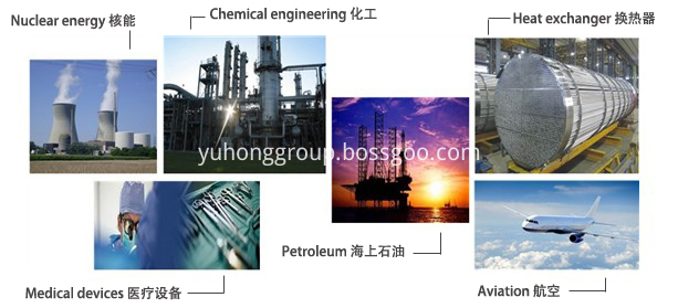 Yuhong Holding Group Products Applications 2