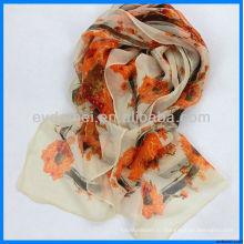 Леди печатной ткани оптовый шарф организатор