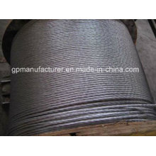 Fil de fer en acier galvanisé à chaud à haute tension