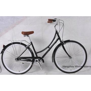Cro Moly Stahl 700c Weinlese-Fahrrad-Stadt-Fahrrad