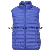 Men′s Winter Lightweight Fake Down Padded Waistcoat