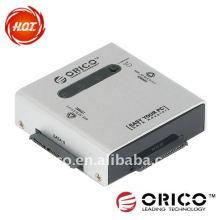 """2bay, 2.5 """"y 3.5"""", duplicador portable de SATA HDD, adaptador del hdd, adaptador del sata"""