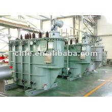 Grifo de carga cambio de transformador de aceite