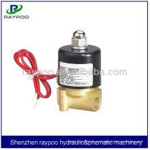 2W электромагнитный клапан 12v соленоидный клапан 2 путь