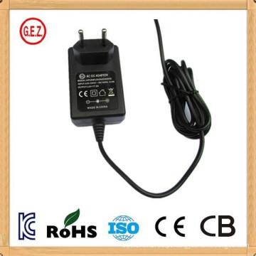 kc aprovação 12v 800ma ac dc power adapter