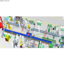 Intergration of automated assembly line