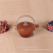 casting iron teapot