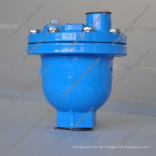 Extremos con brida Válvula de bola simple y válvula de purga de aire atornillada